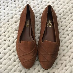 Bass Sport Italian leather loafers